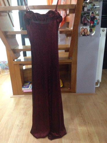 Haljinica sifra - Srbija: Svecana haljina sa ogrtacem velicine M sifra:22