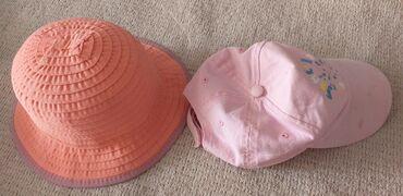 Кепка и шляпа, 3-6 лет, оба за 70 с