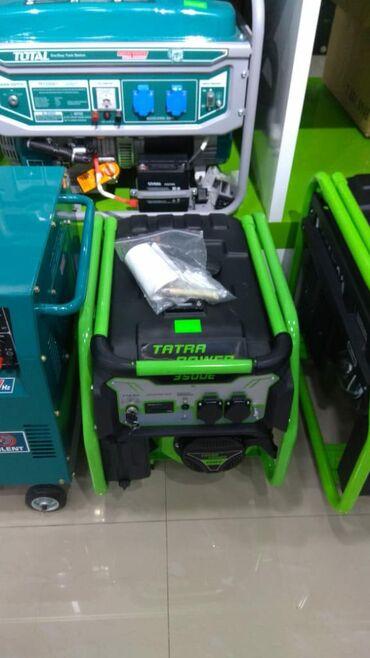 Generatorlar - Azərbaycan: Generator Tatra Power (3.8 Kva) Nağd və Hissə-Hissə Ödənişlə Arayışsız