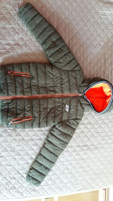 Pocepane na kolendublji - Srbija: VINGINO jakna za dečake vel. 10 god.Polovna i ocuvana,100%