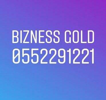 Bakı şəhərində GOLD 2291221 BİZNESS BAKCELL