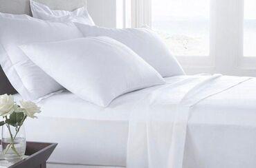 Декор для дома - Кыргызстан: КОМПЛЕКТ (полотенце, пододеяльник, наволочка, простынь) постельного