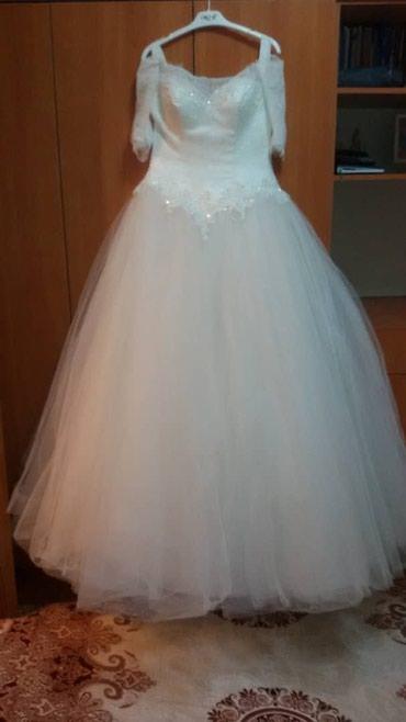 Продаю платье свадебное. в подарок корона и серьги  в Бишкек