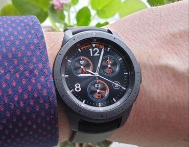 chjornye ot samsung naushniki в Кыргызстан: Samsung galaxy watchЧерные,полный комплектПару раз надевалиПод масло