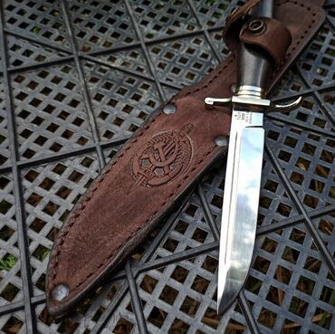 Коллекционные ножи - Бишкек: Финка НКВД. сталь 95х18 рукоять граб(дерево) гарды- мельхиор (литьё)