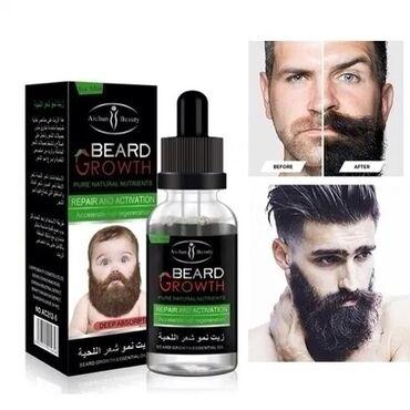 Описание:  Новое решение для восстановления роста бороды.  Активными и