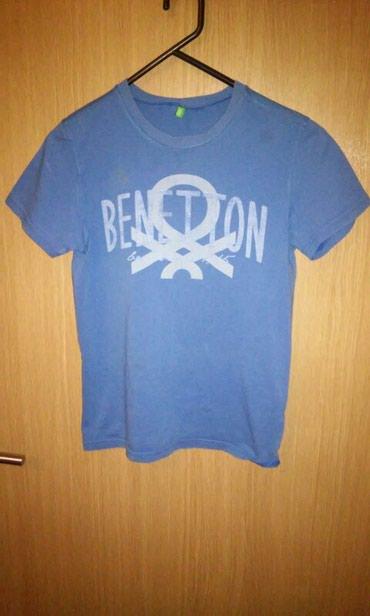 Dečiji Topići I Majice | Kragujevac: BENETTON majica za dečaka, 7- 8 godina 2XL. Lepo očuvana. Cena 200