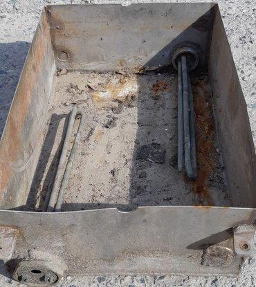 Ёмкость с тенами из нержавейки в Лебединовка