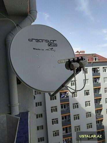 Qızılsirga ve üzüklər - Azərbaycan: Krosnu anten setkalı kuleye ve yağışa davamlı 2021madel 3dayaqlı ağ ve