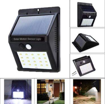 Kola - Srbija: ☀6W SOLARNA LED lampa sa senzorom pokreta AKCIJSKA Cena: 1 KOMAD