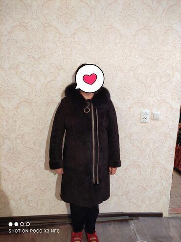 летнее платье 50 размера в Кыргызстан: Продаю дубленку размер 3xl 48-50 размер состояние отличное