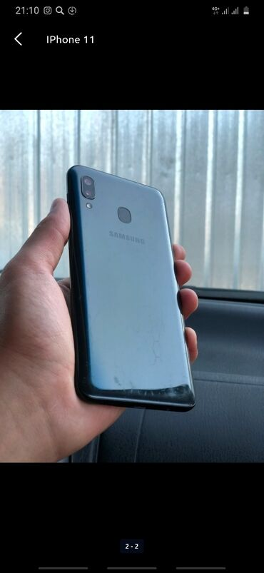 Б/у Samsung A40 64 ГБ Синий