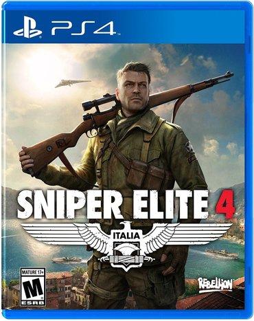 Bakı şəhərində Sniper elite 4 italia Təzə upokovkada orginal