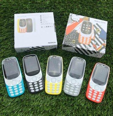 Nokia 3310 (dual sim) dve kartice srpski meni boje crna, siva teget - Beograd