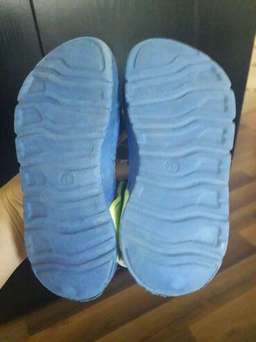 Prilikom - Srbija: Muske sandalice br 26. Nosene samo na moru prilikom setnje 10 dana