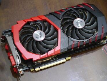 geforce gtx 970 4gb gddr5 256bit в Кыргызстан: Видеокарта MSI GeForce GTX 1060 GAMING X 6GВ отличном состоянии, не