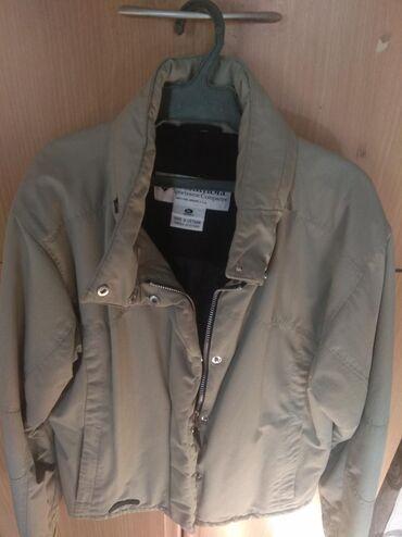Осенняя куртка серого цвета, производства Вьетнам, очень хорошего
