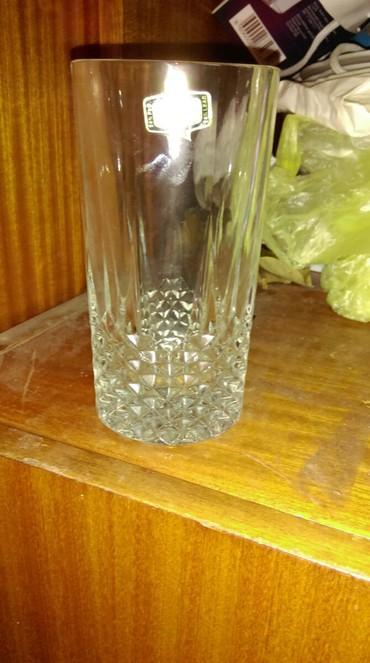 Ostalo   Sivac: Prodajem 6 original kristal casa ne koriscene pravi kristal za