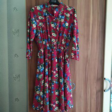 платье для кормящих в Кыргызстан: Всем привет. Продаю отличноенежное платье . Длина выше колен немного