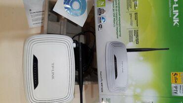 модем-роутер-цена в Кыргызстан: Продам Wi-Fi роутер TP-Link TL-WR740N б/уно WAN порт - не рабочий