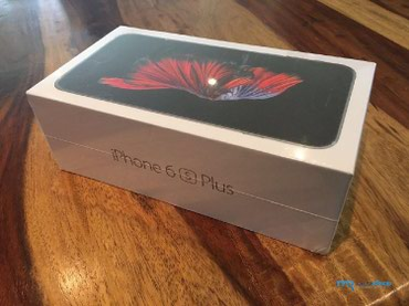 Новый упакованный Apple 6 s Plus 128 gb в Бишкек