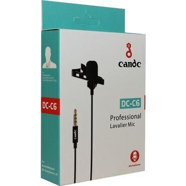 smartfonlar - Azərbaycan: Candc DC-C6 lavalier mikrofon: Mikrofon smartfonlar üçün nəzərdə