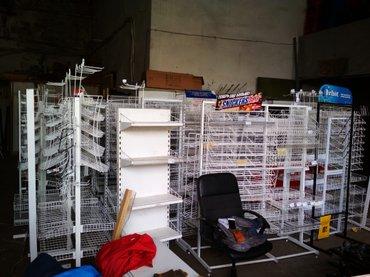 Прикассовые сеточные стеллажи, для всего. от2000с до 4000сом в Бишкек