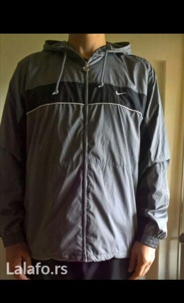 Muška trenerke - Srbija: Nike muška jakna, veličina xl, više odgovara veličini xxl. Original!