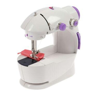 Швейная машинка LuazON LSH-03, 6 Вт, полуавтомат, 2 скорости, 4xАА или