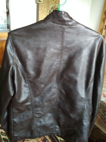 Мужские куртки в Ат-Башы: Кожа куртка новая 44 размер, 1300сом