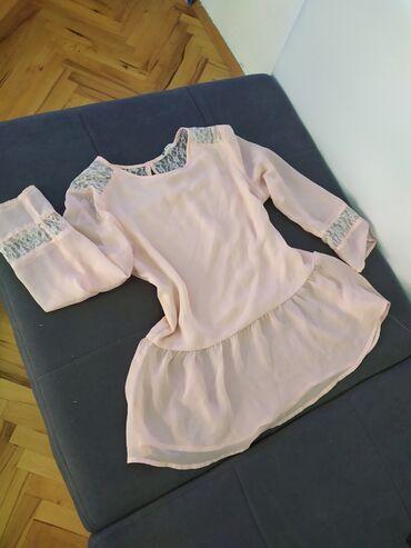 Kosuljica, baby pink, H&M velicina S