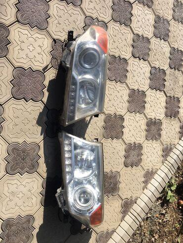 эскорт в бишкеке in Кыргызстан   АВТОЗАПЧАСТИ: Фары от Лэнд Крузер 200 Есть незначительные поврежденияна работу не