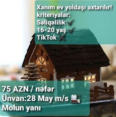Uzunmüddətli - Azərbaycan: Təcili ev yoldaşı xanım axtarılır! Ev 1 otaqlıdır. Əşyası azdır. Əlaqə
