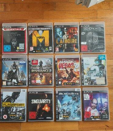 PS3 igrice u odlicnom stanju!!!