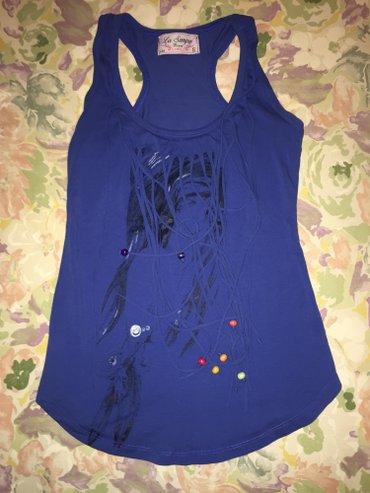 Zenska plava majica Jednom nosena S velicina - Smederevo