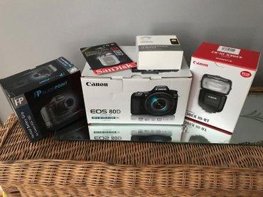 Canon Eos 80D ψηφιακή φωτογραφική μηχανή SLR σε Αγιάσος