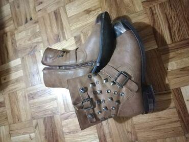 Zenske sandale broj - Srbija: Cizmice broj 38,odlicno ocuvane, vrlo malo nosene