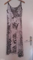 Letnja haljina pamucna sa cipkom do kolena. Preskupo placena - Belgrade