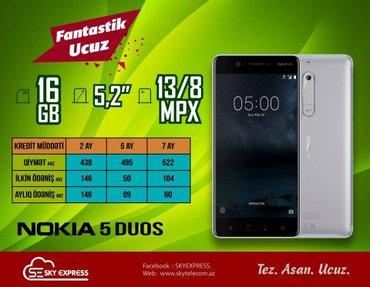 Bakı şəhərində Nokia telefonu 2 ayliq kreditle 438 manata satilir