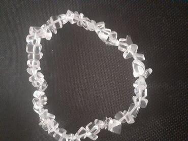 Voile blanche - Srbija: Gorski kristal, narukvica ručni rad, zove se drugačije dijamant