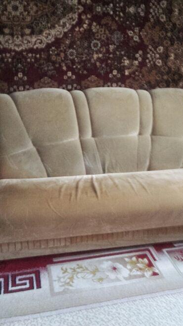 105 объявлений: Продам комплект мягкой мебели б/у,в хорошем состоянии (диван и два