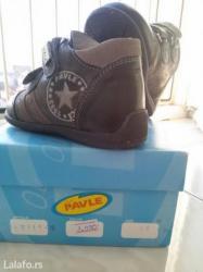 Prve cipelice za decake, broj 20 ,roditelji znaju da je obuca od - Nis