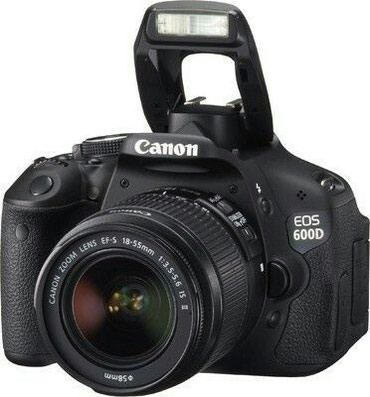 Продаю Canon EOS 600d объектив 18-55mm is II в в Кок-Ой
