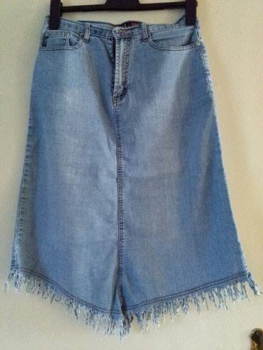 Suknja texas stoji extra,rezanavu spic napred I nazad,za vise stvari - Sombor