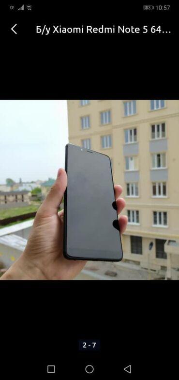 чехол fly в Кыргызстан: Новый Xiaomi Redmi Note 5 64 ГБ Черный