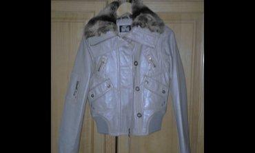 Fratelli kožna siva jakna kao nova dva puta obučena s/m vel siva - Belgrade