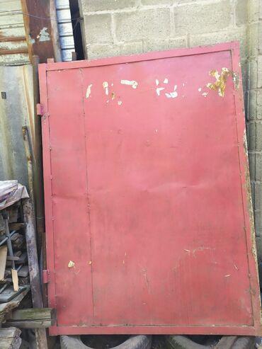 ворота на гараж в Кыргызстан: Ворота гаражные,без стоек.Размер 180*132 и 180*120.Лтсты