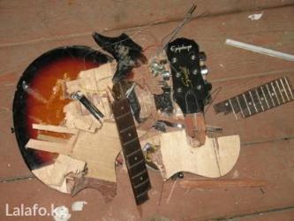 бас гитары в Кыргызстан: Ремонтирую гитары со сломанными грифами. Ремонт трещин на деке