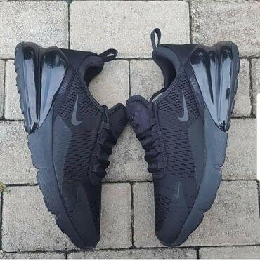 Muske crne Nike 270Jako lagane i udobne, vazdusni djonBrojevii 46I.R