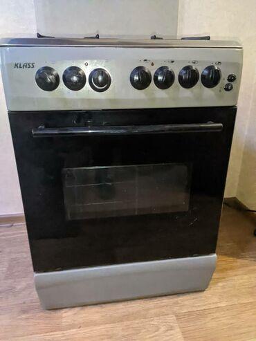 Продается Кухонная плита с духовкой. 3 газовые и одна электро